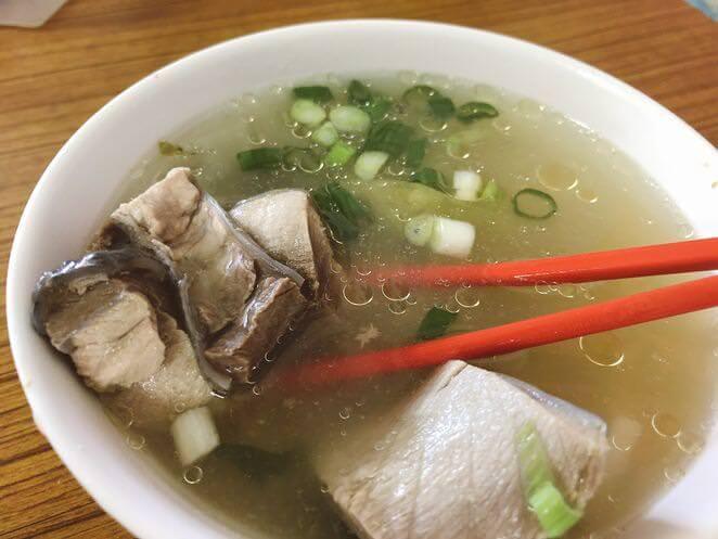 漁港老麵店魚湯