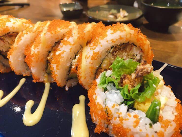 軟殼蟹花壽司