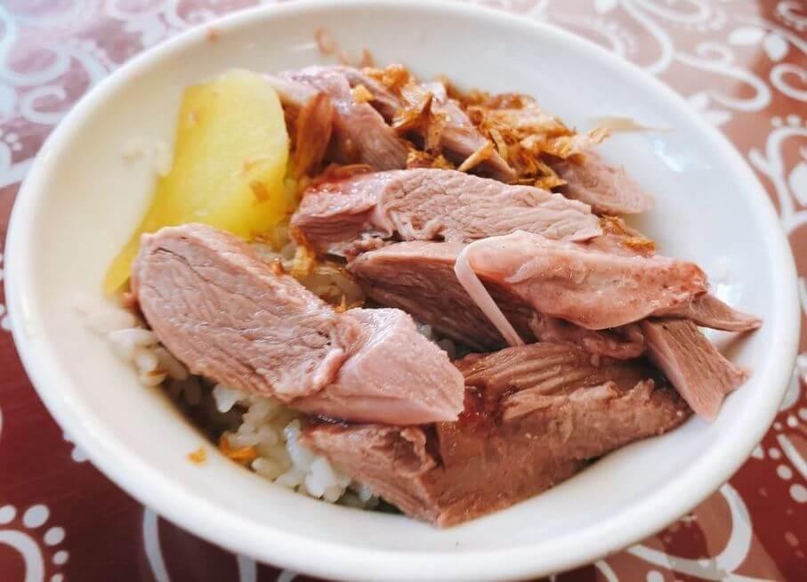 火雞肉片飯